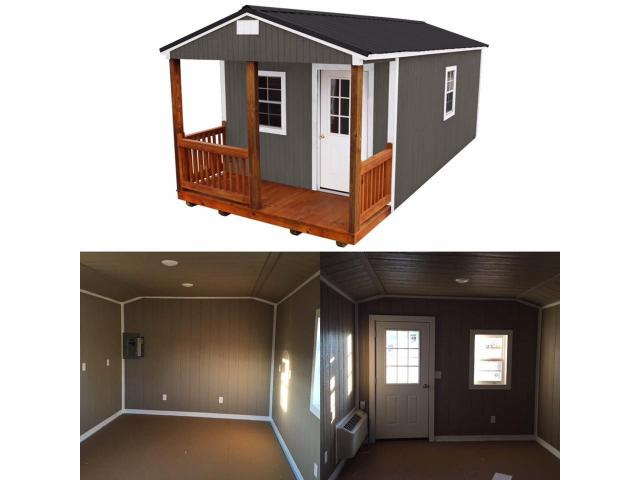 FINISHED CUSTOMIZED PORTABLE BUILDINGS & TINY HOMES - DOWN ...
